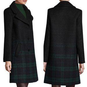 NWT Zac Zac Posen Wool Plaid Coat